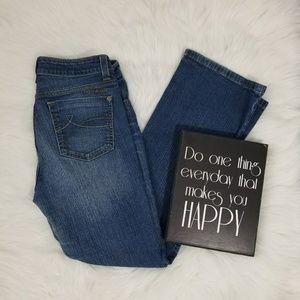 DKNY Mid Rise  Bootcut SOHO Jeans 8S
